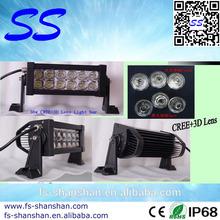 Factory supply 7.5inch 72w Auto led light bar for offroad vehicle, ATV,SUV, UTV, boating,mining,etc