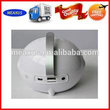 Creative Cute Design Bluetooth Speakers Support T Card/U disk, FM Radio (built-in antenna), AUX Audio Input