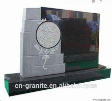 Granito estilo de la flor headstones para graves