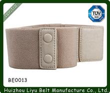 Exclusive Design Custom Fashion Womens Elastic Stretch Belts