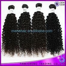Virgin hair packaging 100% real human hair Peruvian afro machine to curly hair