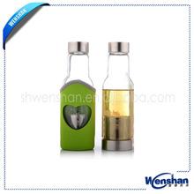 custom glass bottles for mineral water
