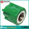 Dark Green PP-R female adaptor