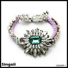 Shourouk's Crystal Flower Bracelet sparkles with utter femininity