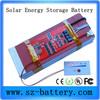 HHS 3.7v 60AH Lipo rechargeable solar battery custom battery pack