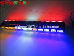 LED Flash vehicle Warning emergency Police Car Light Flashing 72LED strobe light
