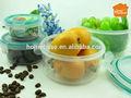 2014 neues design kunststoff-behälter zylinder zum aufbewahren von lebensmitteln Fabrik/bap freien Mittagessen box großhandel