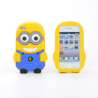 Despicable Me Minions Silicone Cover Case For Iphone 5