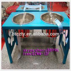 raised dog bowl stand,dog dish stand,elevated dog bowls