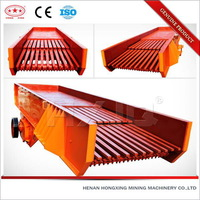 Grizzly vibrating chute vibrating feeder made in China