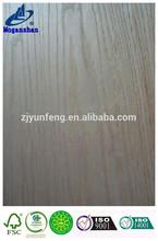 3mm ps red oak veneer laminated board