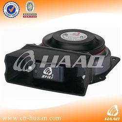 HA 105 unique flat police vehicle pa system 100 w siren loudspeaker