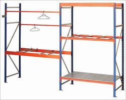 North American type adjustable steel racks