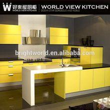 Modern fashional baked painting kitchen furniture