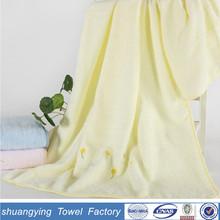 velvet embroidery dandelion bath towels wholesale