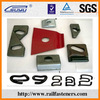 clamp plate, railway clip plate for railroad, railway accessories made in china