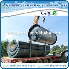 waste rubber pyrolysis machine used tyre pyrolysis equipment