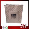 Hot 2014 Metallic Waterproof Non Woven Shopping Bag, Best Quality Metallic Laminated Shopping Bags
