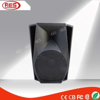 mp3 hifi used powered large dancing speakers with FM radio for sale