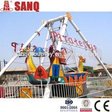 Kids park attractions small amusement rides mini pirate ship for sale