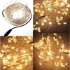 10M 100 LED Eight-pointed Star Warm White Fairy String Light Party Xmas Lighting