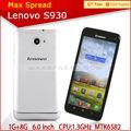 Fonction Formidable Android MTK6582 QUAD CORE Lenovo S930 bmw téléphone