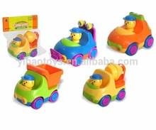 Hot sell baby cartoon car toys baby toys cartoon vehicles