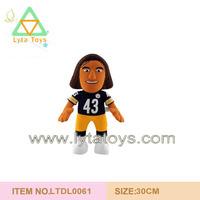 Plush Football Man Doll For Boys, Plush Love Doll Toy
