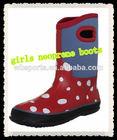Girls Neoprene Boots