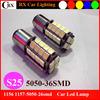 T20 S25 bay15d ba15s 36-5050smd LED brake light LED turning signal lamp LED back light led car light car led bulb