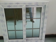 economical high quality vinyl pvc sliding window