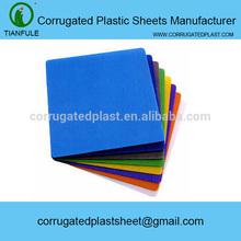 PP flute board, Correx sheets, fluted polypropylene