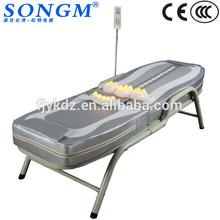 migun termale massaggio pieghevole letti trattamento vibrazione del motore giada massaggio banco a rulli