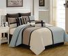 8pcs patchwork 200gsm polyester bedding duvet set
