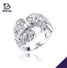 Preferential gemstone silver prom jewelry dragon ball z ring 8pcs