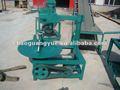 Gomma del pneumatico macchina di taglio/linea polverino di gomma di produzione/gomma macchina di taglio