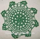 Hand knitted Crochet Pad Mat Doily
