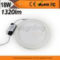 bom desempenho indicador led painel de luz 1320lm quente branca 18w