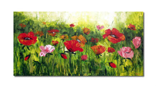 2014 Hot Sell Spring Scenery Landscape Flower Oil Painting Pictures