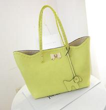 2014 Trendy Summer BAG IN BAG Lady handbag TOTES BAG women handbag with lock factory price Mixed order Paypal