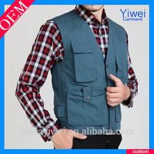 custom cotton work vest