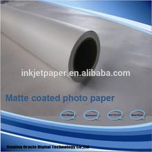 roll matte cotaed paper,wide format paper rolls