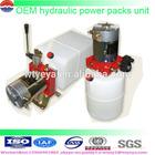 12v DC 24v DC china Hydraulic power UNIT mini 12v dc motor power packs