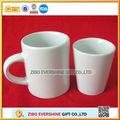 Mini blanco liso de cerveza de cerámica tazas/mugs/tarros a granel