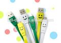 De nuevos productos! Colorido 1m 1.5m 2m 3m teléfono móvil cables de carga