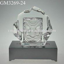 De moda de la buena Feng Shui cristal hechos a mano de recuerdos