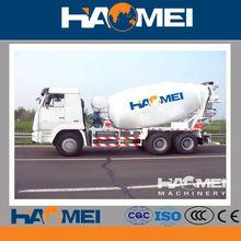 Construction equipment 9m3 mini concrete mixer trucks for sale