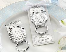 "2014 creative new product ""Whooo's in Love"" Owl Bottle Opener custom"