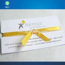 Heißer verkauf papier-visitenkarte