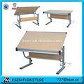 Mdf table à dessin réglables kc-7660nb